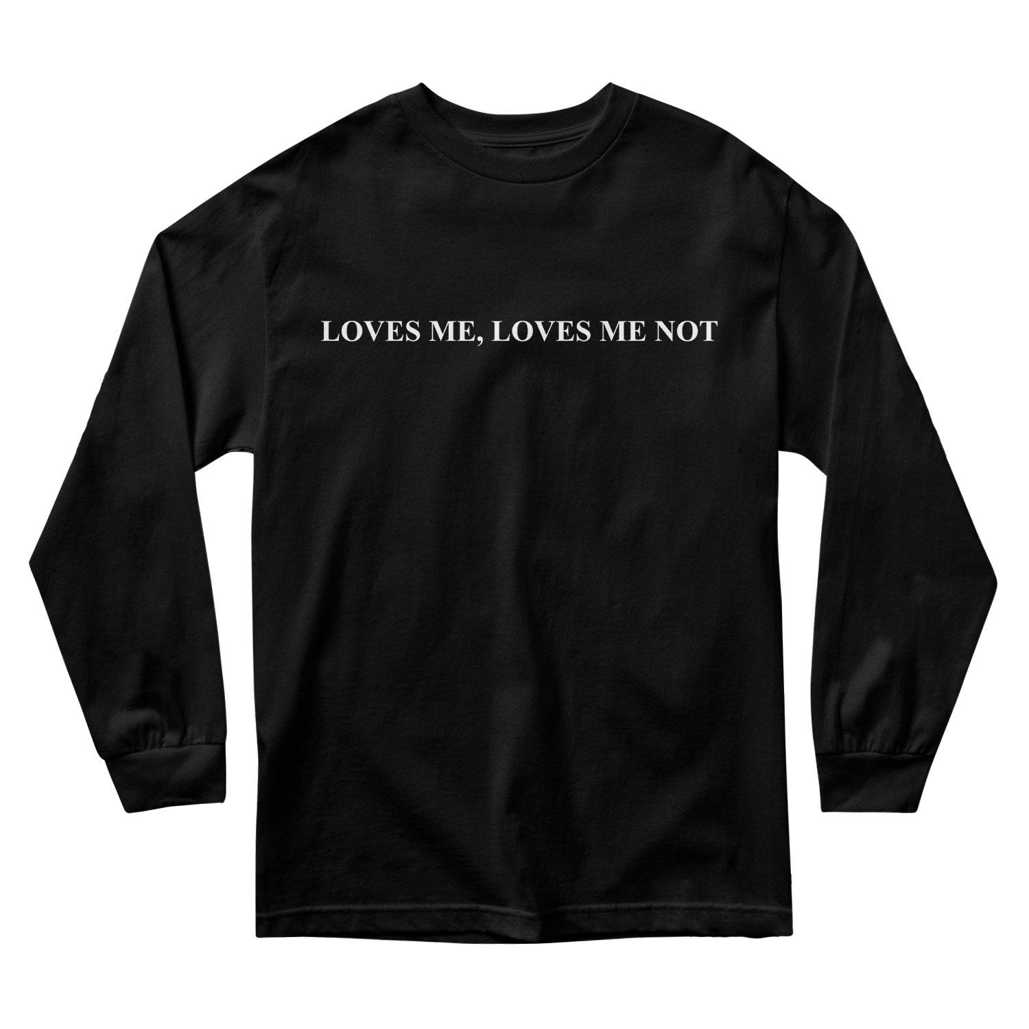 LOVES ME NOT PETALS LONG SLEEVE
