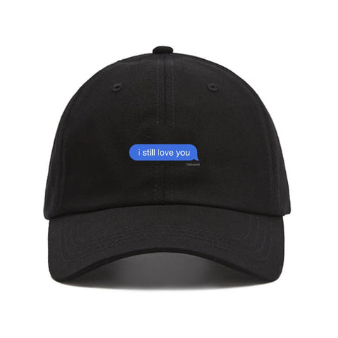 ISLY DELIVERED MESSAGE DAD HAT
