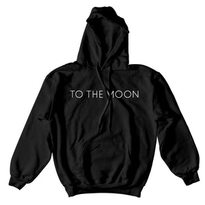 Neon Moon Hoodie Black - Yours Truly Clothing