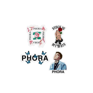 Phora Sticker Assorted Pack - Yours Truly Clothing