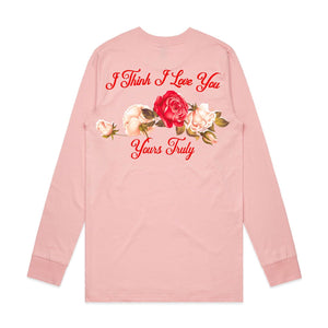 Secret Admirer Long Sleeve - Pink - Yours Truly Clothing