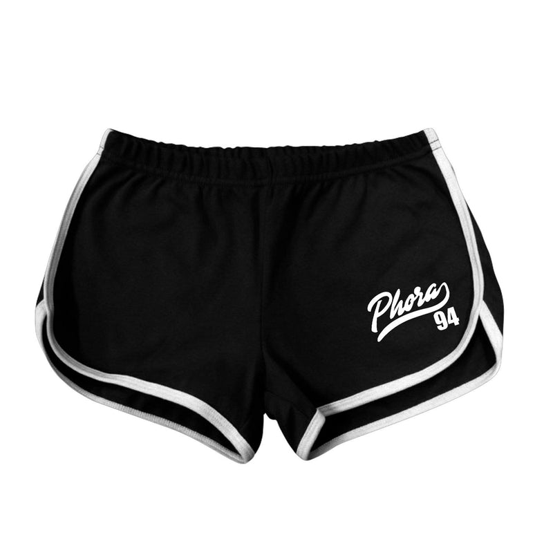 PHORA 94 WOMENS SHORTS - BLACK