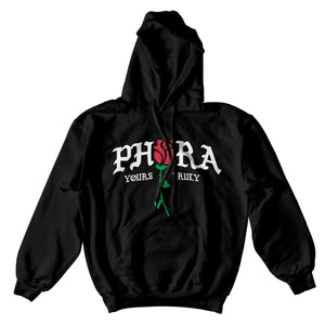 Phora Hoodie - Black - Yours Truly Clothing