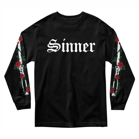 SINNER BONES LONG SLEEVE