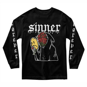 Sad Sinner Long Sleeve - Black - Yours Truly Clothing