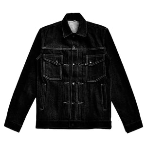 SINNER SKULL DENIM JACKET