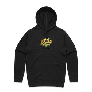 Love and Sunflowers Hoodie - Black - Yours Truly Clothing