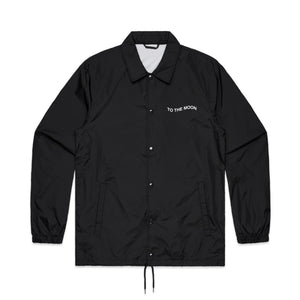 Love Never Fades Coaches Jacket - Black - Yours Truly Clothing