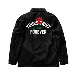 YOURS TRULY FOREVER ROSE COACH JACKET