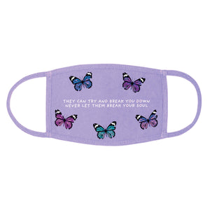 Broken Butterfly Facial Mask - Yours Truly Clothing