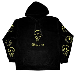 MELT4ME HOODIE - BLACK - Yours Truly Clothing