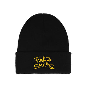 FAKE SMILES BEANIE - Yours Truly Clothing