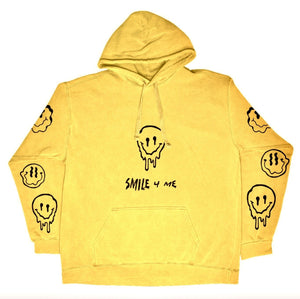 MELT4ME HOODIE - YELLOW - Yours Truly Clothing