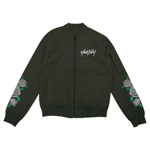 JACKETS - YOURS TRULY FOREVER BOMBER JACKET - OLIVE