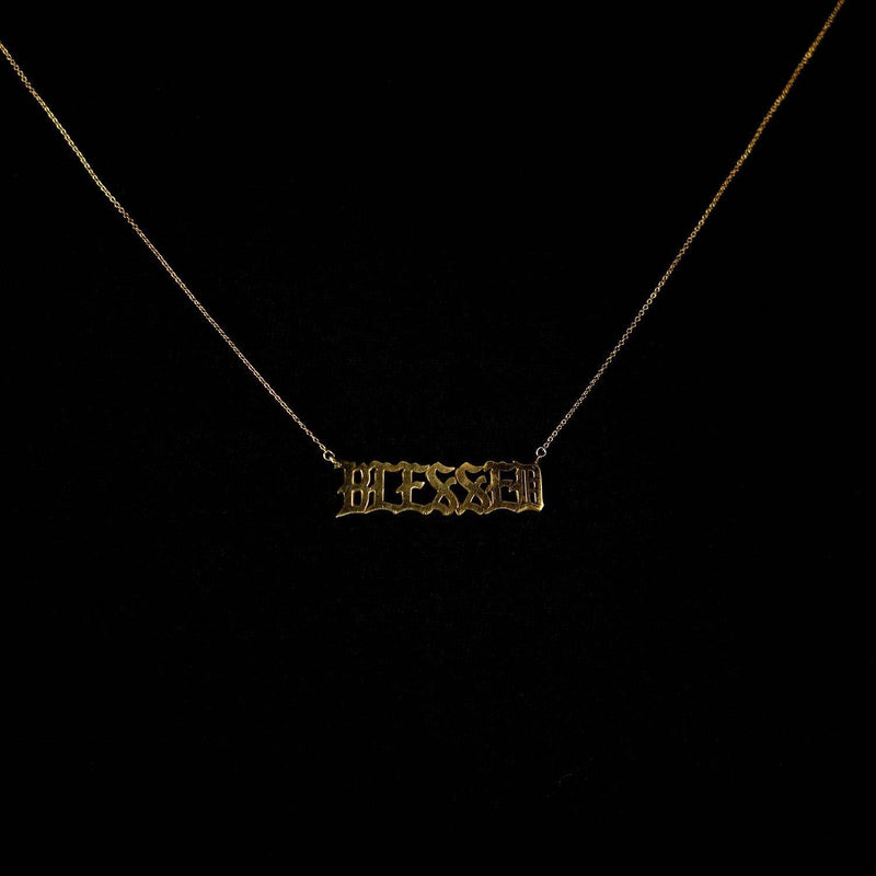 JEWELRY - BLESSED GOLD CHAIN - WOMEN'S