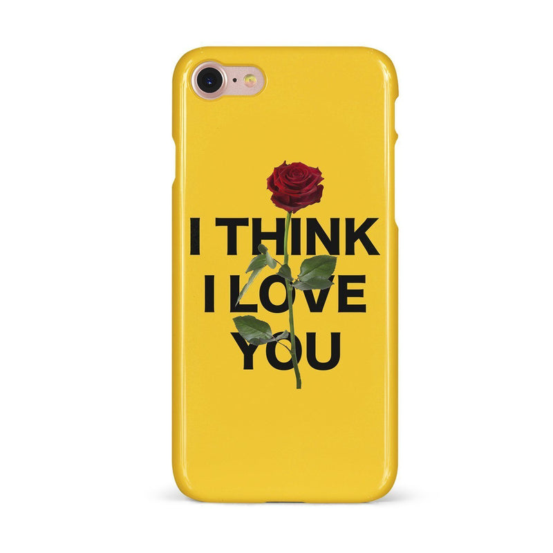 PHONE CASE - I THINK I LOVE YOU PHONE CASE - IPHONE X