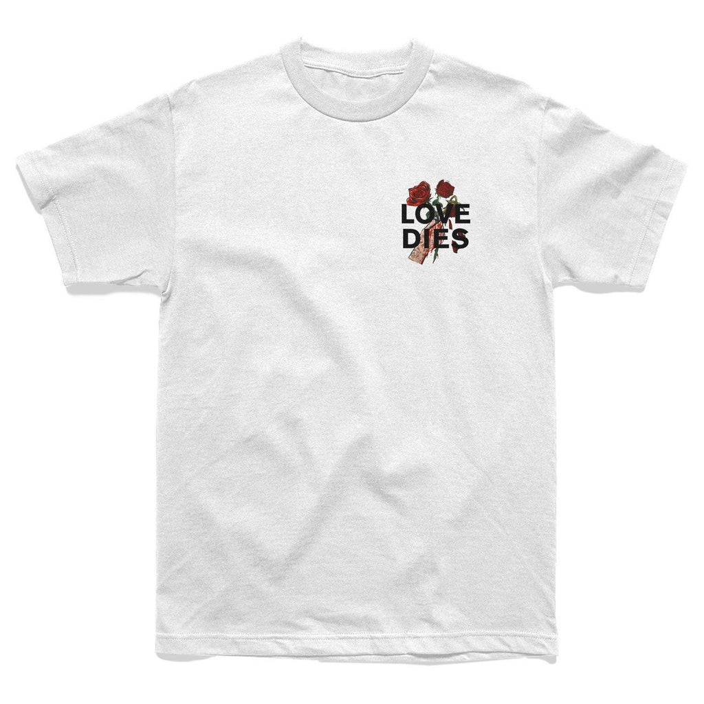 SHIRT - LOVE DIES TEE - WHITE