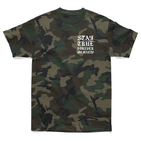 SHIRT - STAY TRUE ROSES MCMXCIV TEE - CAMO