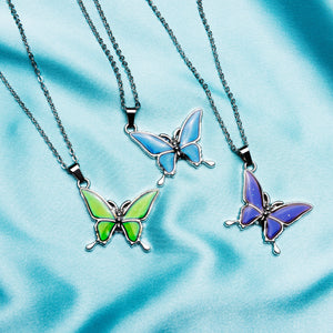 Butterfly Mood Necklace - Yours Truly Clothing