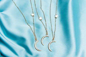 Moon Star Necklace - Yours Truly Clothing