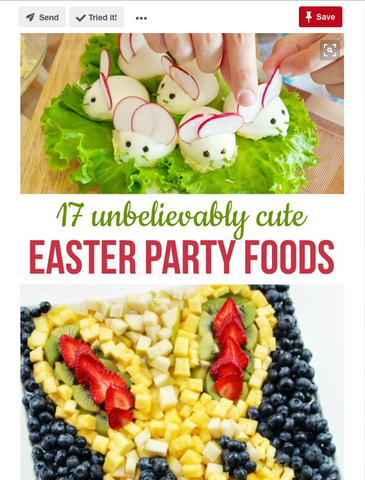 Easter party foods