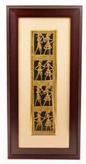 Ethnic Dhokra Framed Art