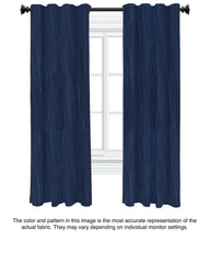 Custom Drapery - Royal Blue