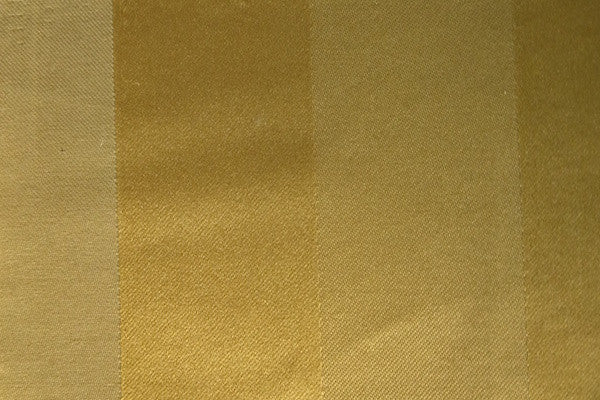 Custom Drapery - Striped Gold
