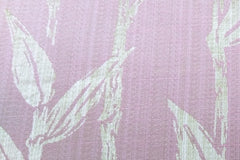 Custom Drapery -  Pink Zibal Damask