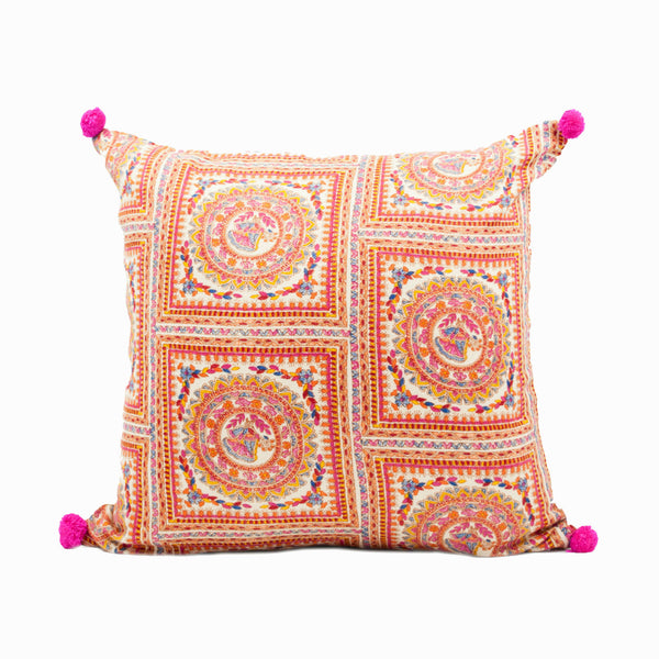 Tribal Print Pashmina Throw Pillow Cover