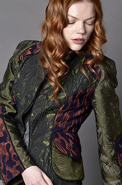 Multi Color Military Jacket - Irina Simeonova