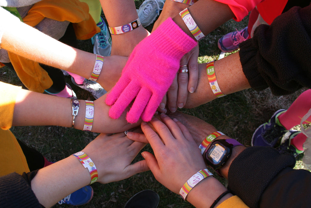 See Girls Run – Loops donates Custom Bracelets to Girls on the Run 5K