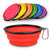 Silicone Pet Water Bowl Collapsible Travel Dog