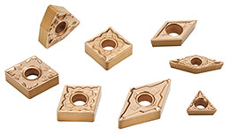 CA5-Series CVD Coated Carbide Inserts for Steel