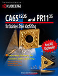 CA6515/25 and PR1125 for Stainless Steel Machining  Brochure