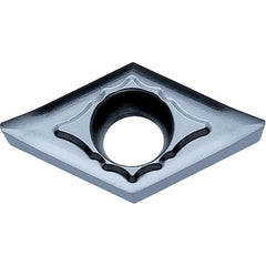 DCGT3251AH KW10 Carbide Turning Insert for Non-Ferrous (10 Pieces) 0.0156 inch Corner Radius DCGT Insert Style 3251 Size Uncoated 55 Degrees Diamond