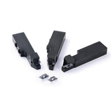 Kyocera TKF 12L100T PR1535 Grade PVD Carbide, Indexable Cut-Off Insert (10 pcs)