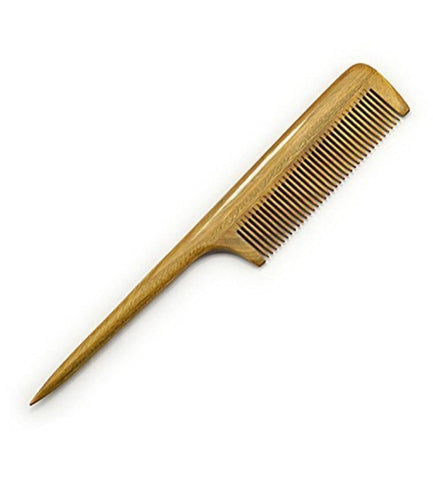 Professional Fine Tooth Rat Tail Wooden Comb
