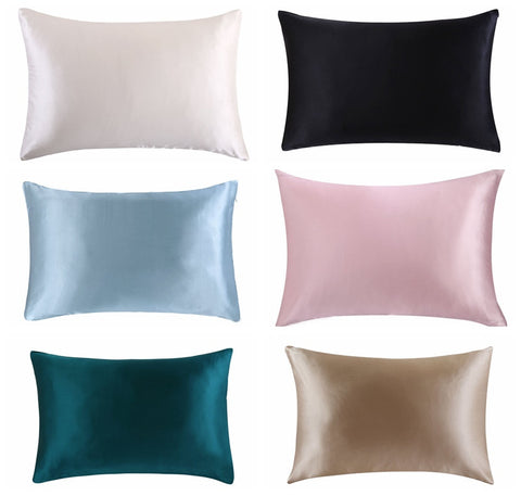 100 % Silk Curl Protecting Pillowcase