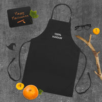 100% Haram Embroidered Apron