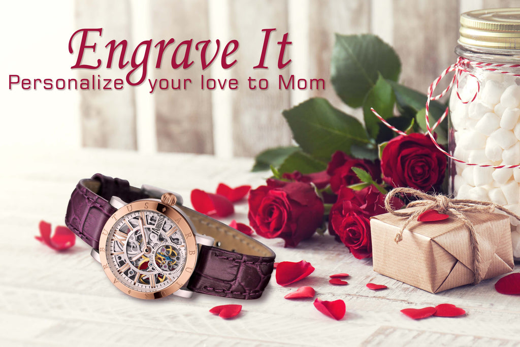 Engrave your gift for Mother's Day