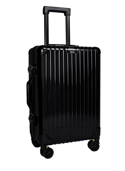 AB-507 Black Cabin Suitcase - Arbutus New York