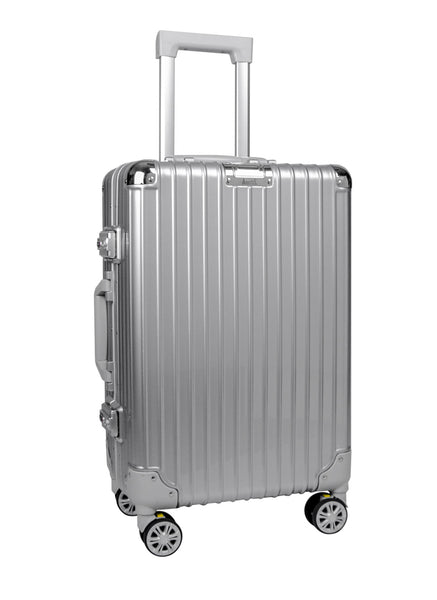 AR-508  Silver Cabin Suitcase - Arbutus New York