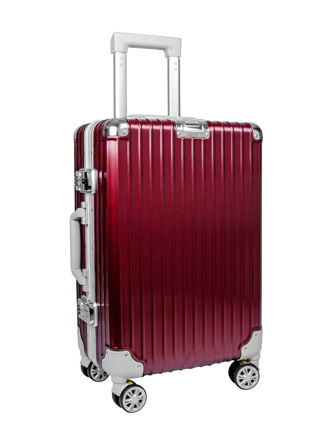 AB-518 Red Cabin Suitcase - Arbutus New York