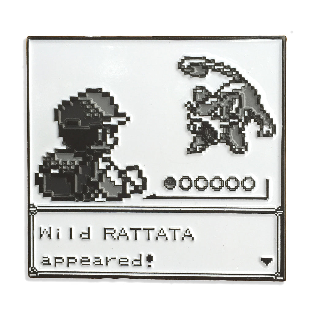 Rattata pin  - Glow In The Dark