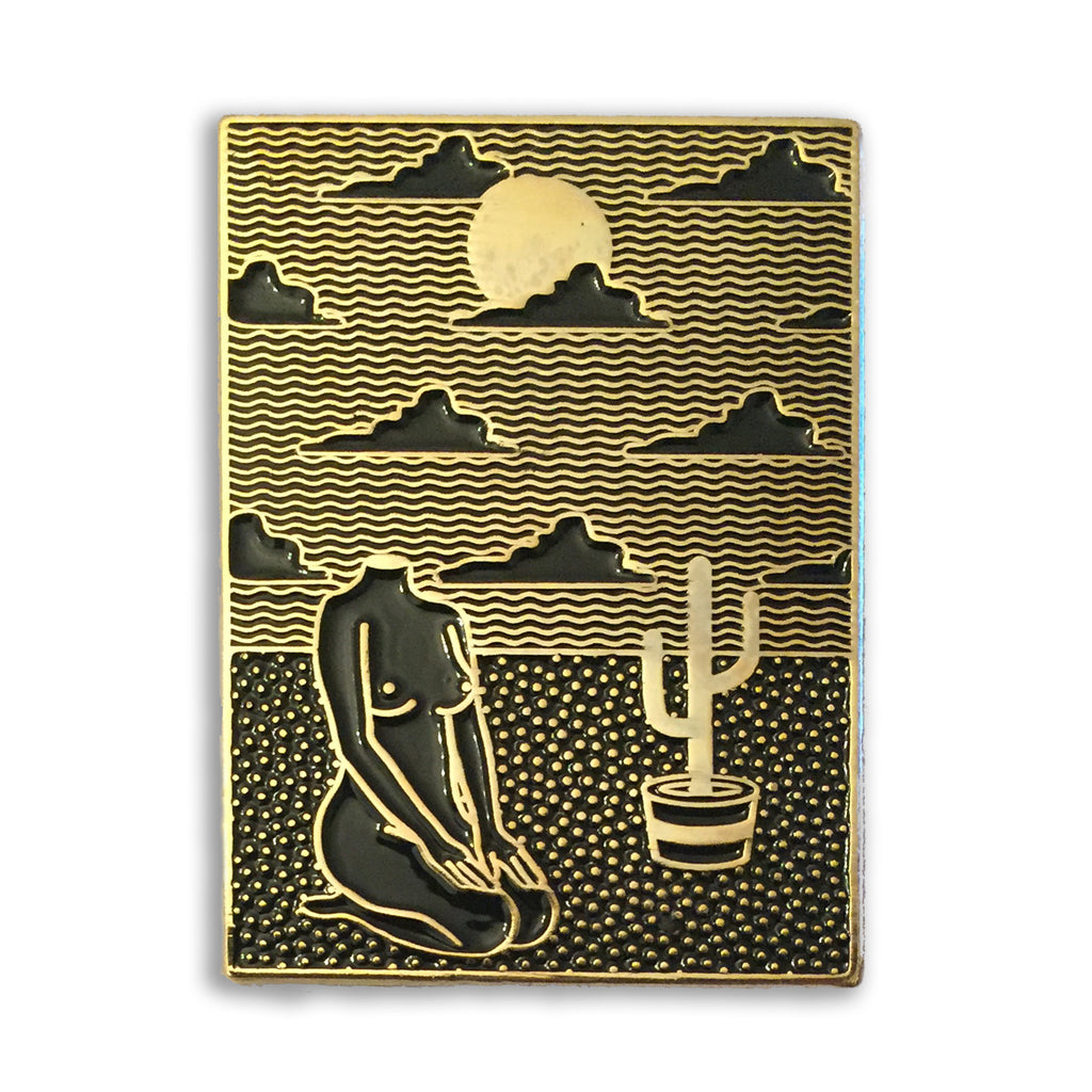 Gold Relax pin