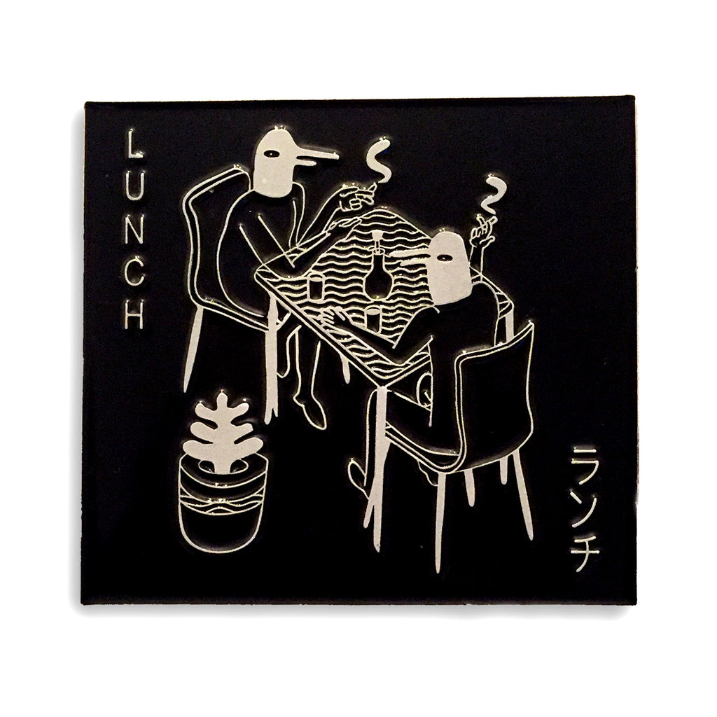 Black Lunch pin