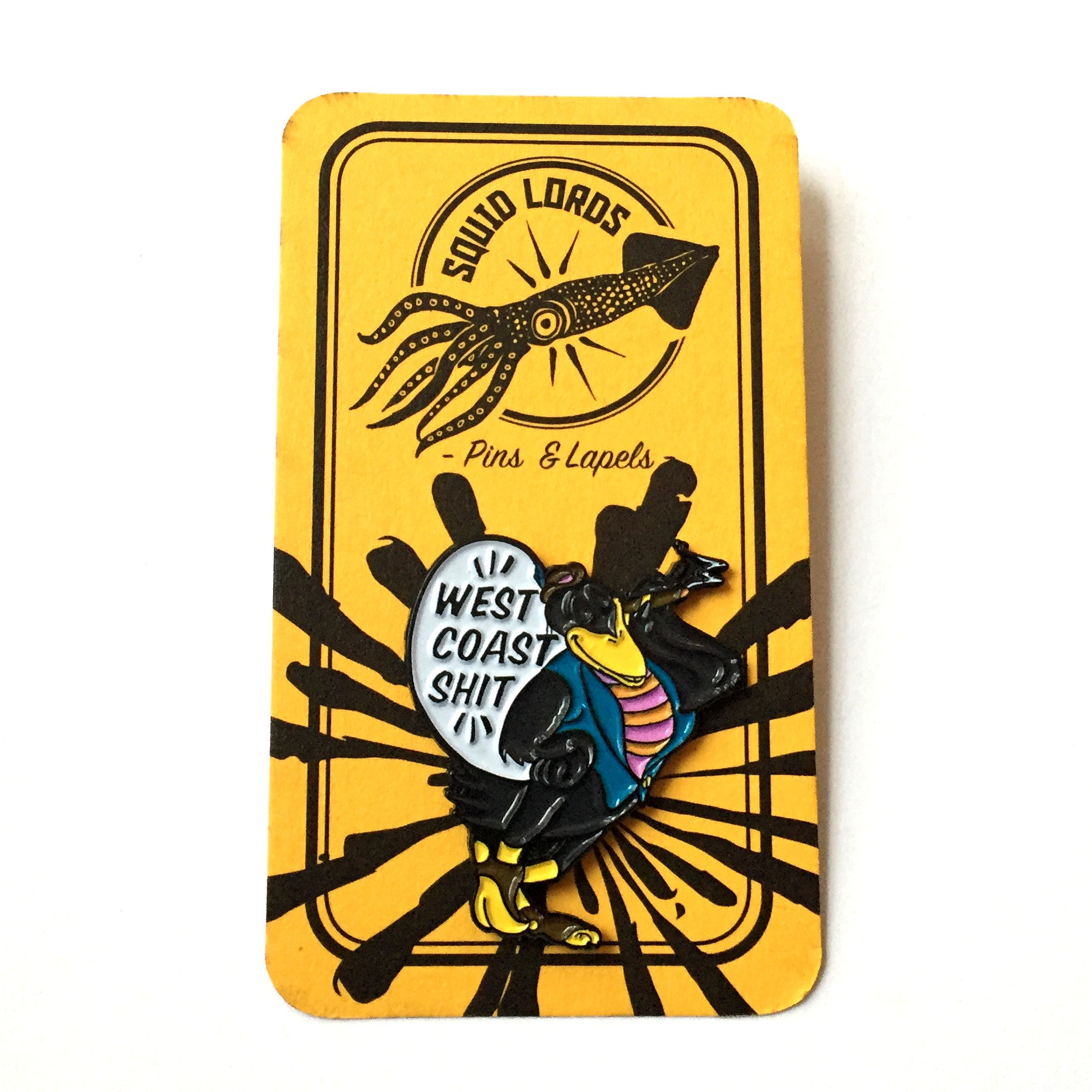 West Coast pin