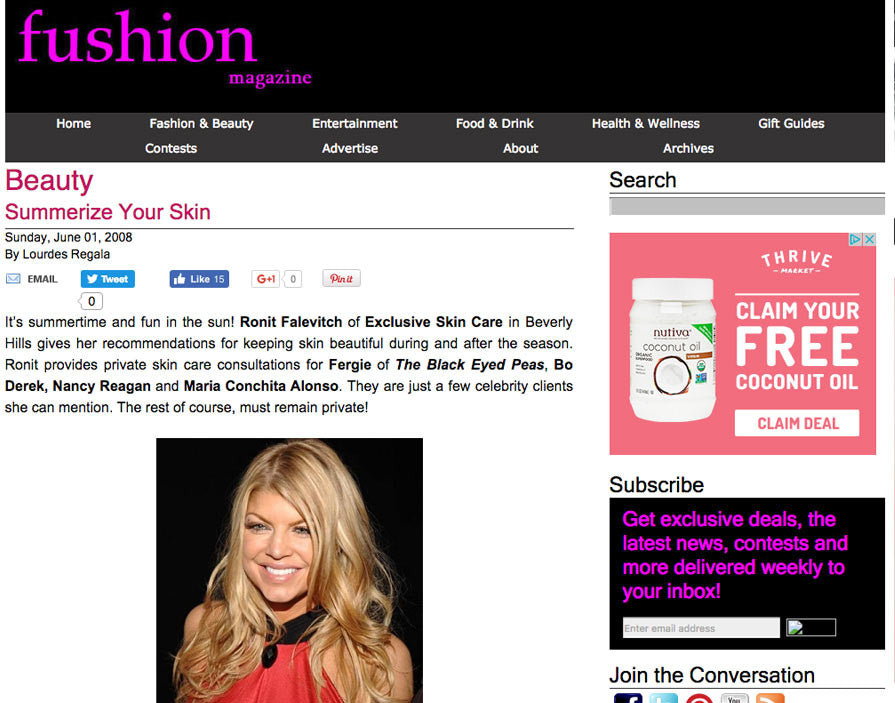 Press Hit on FusionMag.com