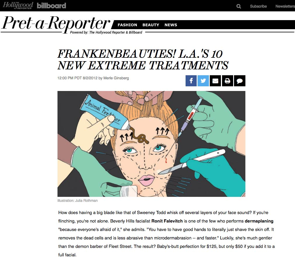 Hollywood Reporter Franken Beauties